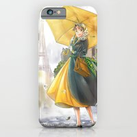 iPhone & iPod Case featuring bonjour paris! by Moonsia