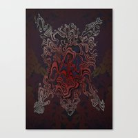 Bear Sinew (Bear Skin Co… Canvas Print