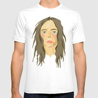 patti smith. Mens Fitted Tee White SMALL