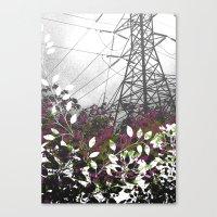 Pylon Canvas Print