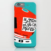 iPhone & iPod Case featuring Life On Mars? by Derek Eads