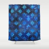Tribal America {STARS} Shower Curtain