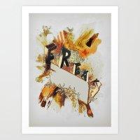 Freak! Art Print