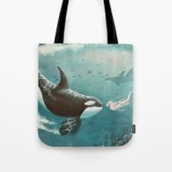 Underwater Love At First… Tote Bag