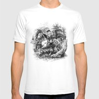 The Last Of The Gnomes Mens Fitted Tee White SMALL