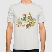 Critters: Summer Gardeni… Mens Fitted Tee Silver SMALL