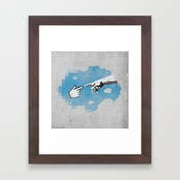 On the 101110010th Day... Framed Art Print