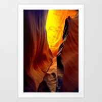 Magic Pass.  Low Antelop… Art Print