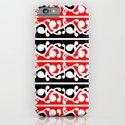 Maori Kowhaiwhai Traditional Pattern  iPhone & iPod Case
