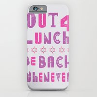 out 4 lunch ver. 2.0 iPhone 6 Slim Case