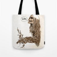 Laughing Skull Tote Bag
