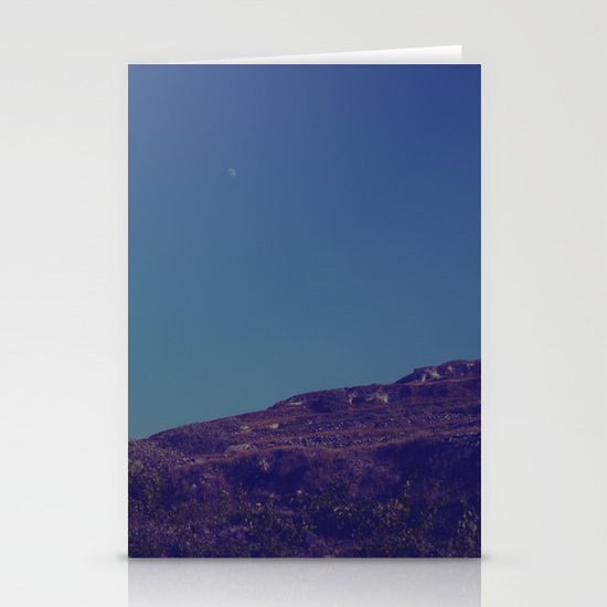 House on a Hill II Stationery Card