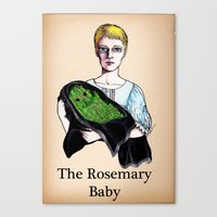 THE ROSEMARY BABY Canvas Print