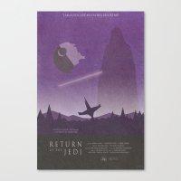 Return Of The Jedi Movie… Canvas Print