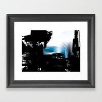 city dream Framed Art Print