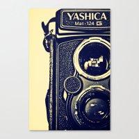 Yashica Cam Canvas Print