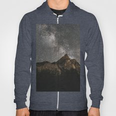 Milky Way Over Mountains - Landscape Photography Hoody