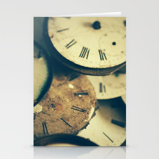 Time Stationery Card