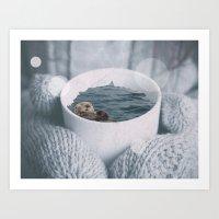 Otta Have A Cup Art Print