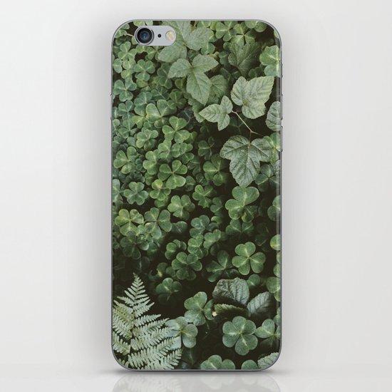Wood Sorrel iPhone & iPod Skin