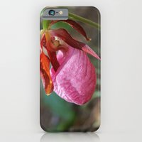 iPhone & iPod Case featuring The Pink Lady Slipper by Casey VanderMeulen