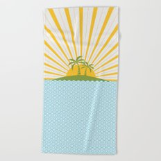 Summer Sun Beach Towel