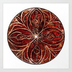 The Ancient Sex Gong Art Print