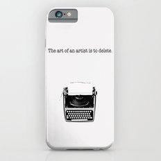 typewriter Slim Case iPhone 6s