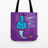 Drizzy Genie Tote Bag