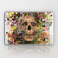 White Noise Laptop & iPad Skin