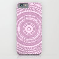 iPhone & iPod Case featuring Kaleidoscope Pink Pattern by Sunshine Inspired Designs
