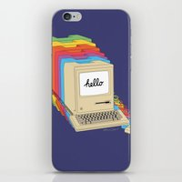 Macintosh Cascade iPhone & iPod Skin