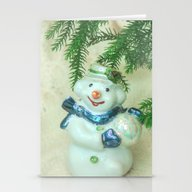 Christmas Tree Branch An… Stationery Cards