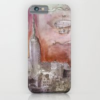 Boat over the City iPhone 6 Slim Case