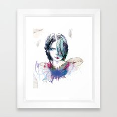 Plum' Framed Art Print