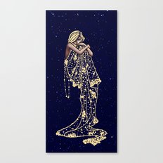 Mood Indigo Canvas Print