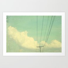 a blissful day Art Print