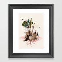 FORGET PAPER Framed Art Print