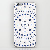 Radial - in Cobalt iPhone & iPod Skin