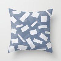 Wood Henge Reverse Throw Pillow