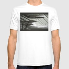 Railings Mens Fitted Tee White SMALL