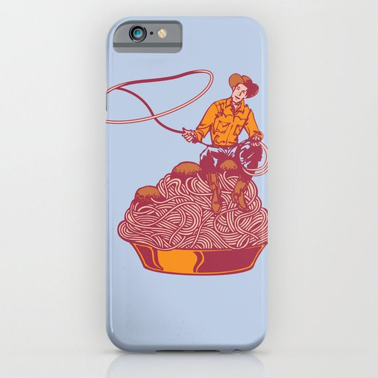 Spaghetti Western iPhone & iPod Case