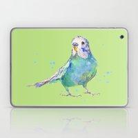 Cute Parakeet - Bertie Wonderblue Laptop & iPad Skin