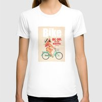 bike T-shirts featuring BIKE by melivillosa