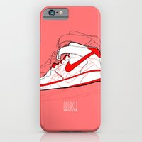 iPhone & iPod Case featuring Air Forces 1 Tribute by Jesús Enri