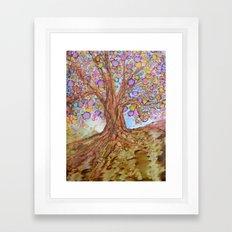 Prosperity Tree Framed Art Print