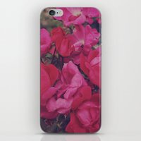 Faded Floral iPhone & iPod Skin