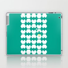 Honey Bee back to Nature with Love Laptop & iPad Skin