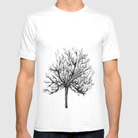 33333 Mens Fitted Tee White SMALL