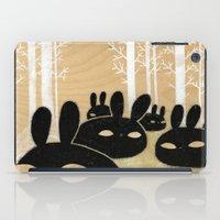 Suspicious Bunnies iPad Case